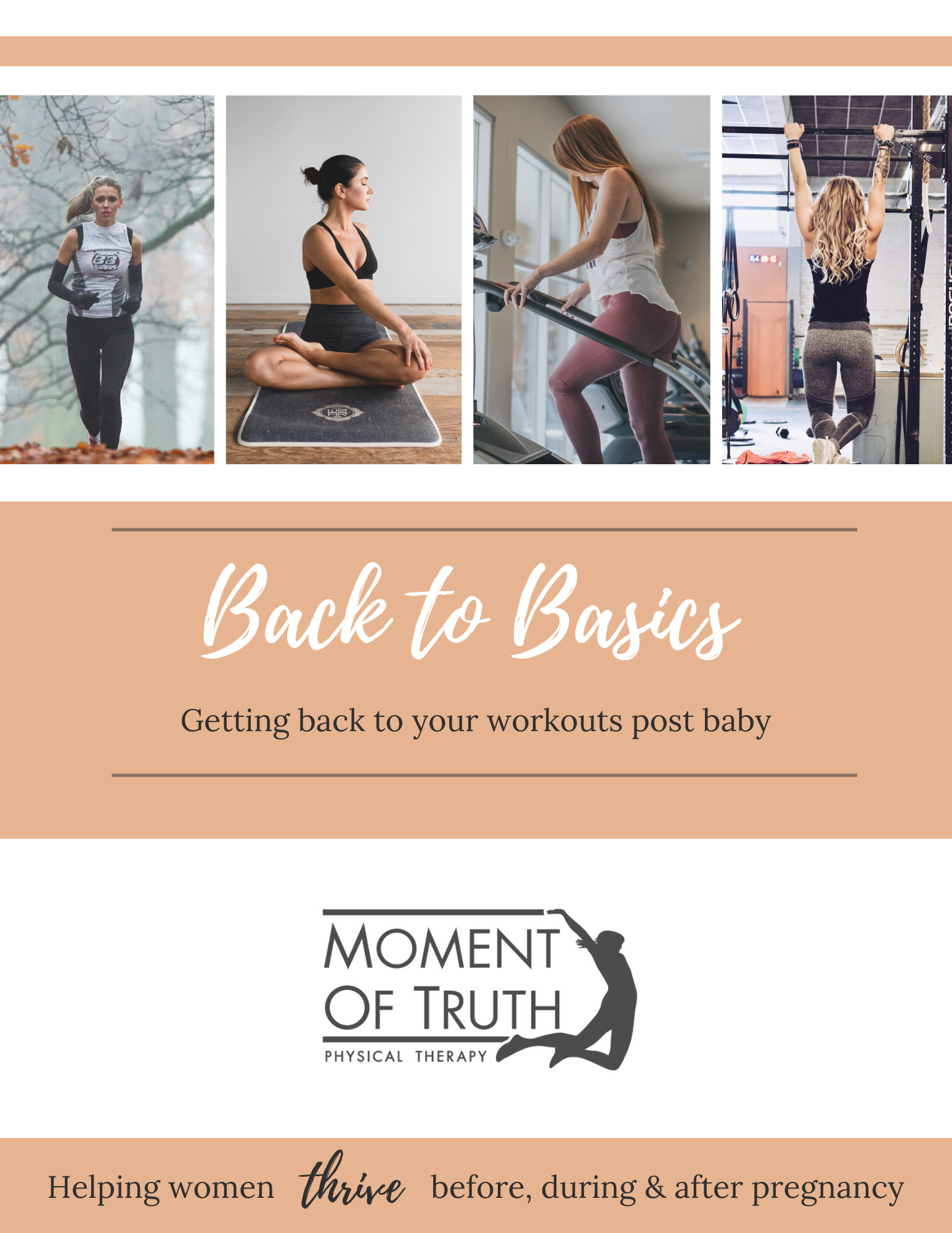 Back to Basics: Getting back to your workouts post baby | Moment of Truth Physical Therapy